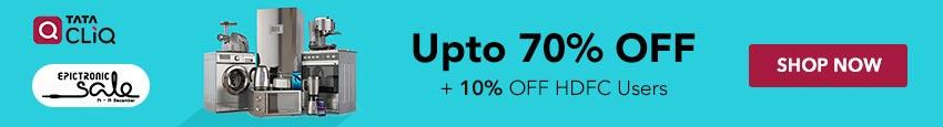 TataCliq Epictronic Sale