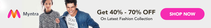 Myntra Coupons & Offers