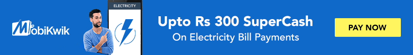 Electricity Bill Payments Offers