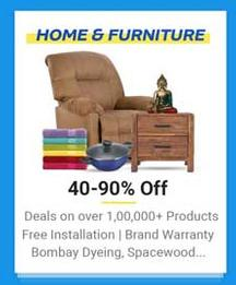 Flipkart Home and Furniture Offers