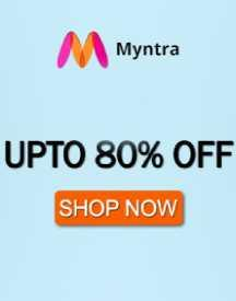 Myntra Sale: Flat 80% OFF On Top Brands Online