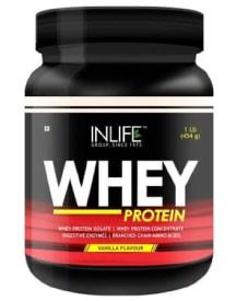 INLIFE Whey Protein, 1 lb Chocolate: Flat 22% OFF