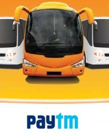Paytm Pay Offer: Extra 10% Cashback On Bus Bookings