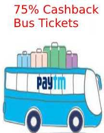 Big Save Offer: Flat Rs 75 Cashback On Every Bus Tickets For A Year