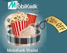 PVR Cinemas Mobikwik Offer: Flat 20% Cashback On All Movie Tickets