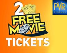 Get 2 Free Movie Tickets At PVR Cinemas (PVR Kotak Credit Card Users)
