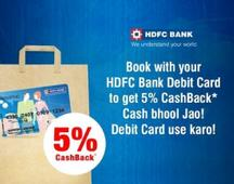 HDFC Debit Card Offer: 5% Cashback On Movie Tickets