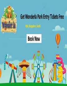 Get Less Price On Wonderla Park Entry Tickets