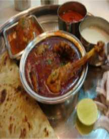 Non Veg Thali Starting From Rs 230 Only