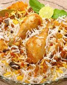 Order Chicken Biriyani Starting At Rs 189