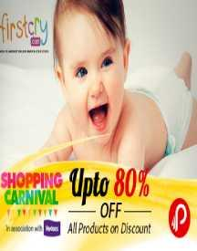 Firstcry Online Shopping: Upto 80% OFF (Sitewide)