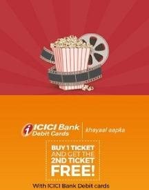 BookMyShow ICICI Bank Offer