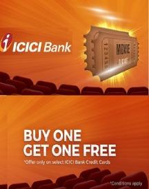 Buy 1 & Get 1 FREE on Movie Tickets