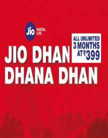 Jio Rs 399 Plan: Unlimited Calls, Data & SMS