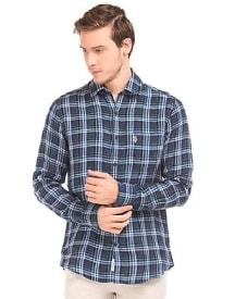 Check Cotton Shirt @ Rs. 1380