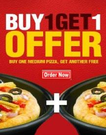 Pizza Hut Friday Offer: Buy 1 & Get 1 Free