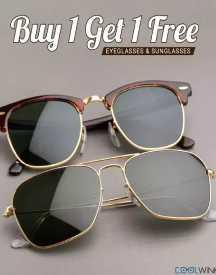 Buy 1 Get 1 Free Offer (All Sunglasses)