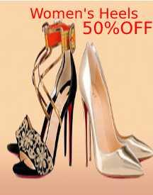 Women's Heels: Up To 50% OFF