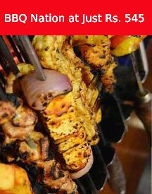 Barbeque Nation VEG BBQ Buffet Lunch For Just Rs 545
