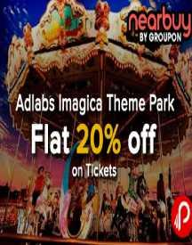 Advance Booking Offer: Extra Flat 20% OFF On Tickets