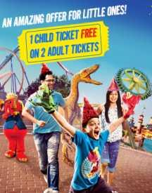 Get A Free Child Ticket On Every 2 Adult Tickets