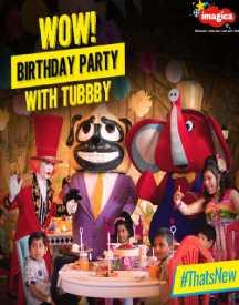 Flat 5% Off On Birthday Party Packages At Adlabs Imagica