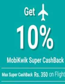 SuperCash Offer with Mobikwik: Get 10% Cashback