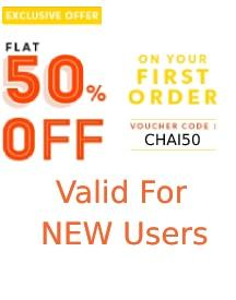 Grab Flat 50% OFF On First Order