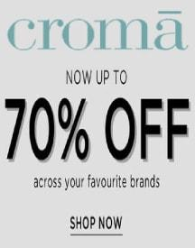 Upto 70% OFF Across Site Products