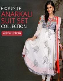 Biba Anarkali Suits: Upto 70% OFF