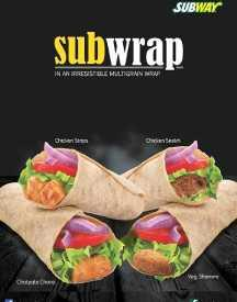 Subwrap from Subway @ Just Rs 59