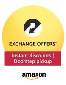 Amazon Exchange Offers: Instant discounts On Electronics