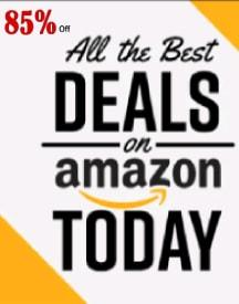 Amazon Today's Deals: Upto 85% OFF