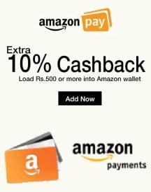 Amazon Pay Wallet: Get 10% Cashback