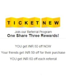 TicketNew Referral Program