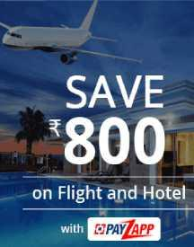 Save Rs 800 on Flight and Hotel Bookings with Payzapp