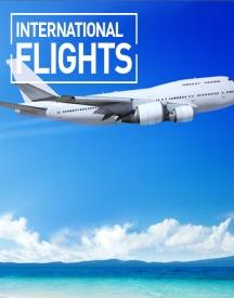 International Flight Tickets: Flat 8% OFF