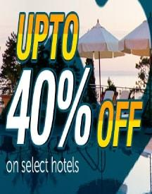 Goomo Hotel Offer: Upto 40% OFF On Demesting Bookings