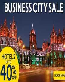 Business City Sale: Upto 40% OFF On Hotels