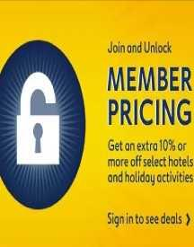 Subscribe For Member Pricing: Get Extra 10% OFF On Hotels
