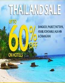 Thailand Sale Upto 60% OFF On Hotels