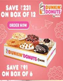 Save Rs 231 on Donut Box (All Users Offer)