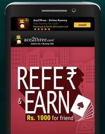 Refer & Earn Rs 1000 For Every Friend Signup