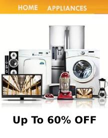 Home Appliances: Up To 60% OFF