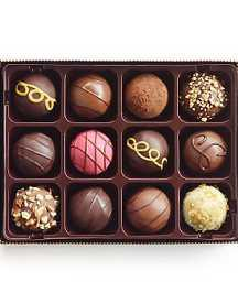 Assorted Belgian Truffles Chocolate 12 Pcs in Gift Box