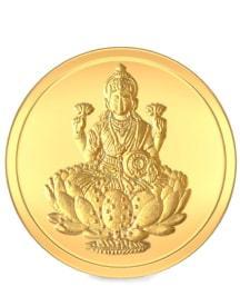 Bluestone Lakshmi Gold Coins