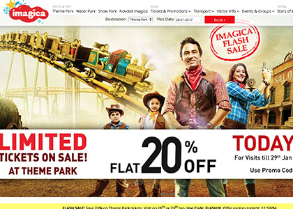 Adlabs Imagica Promo Codes | Coupons | Offers