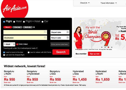 AirAsia Promo Codes | Coupons | Offers