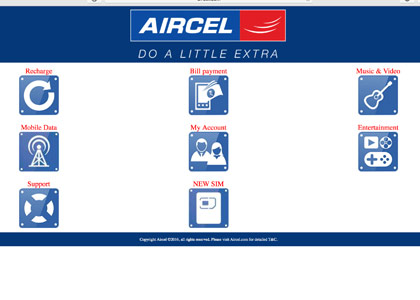 Aircel Recharge Promo Codes | Coupons | Offers