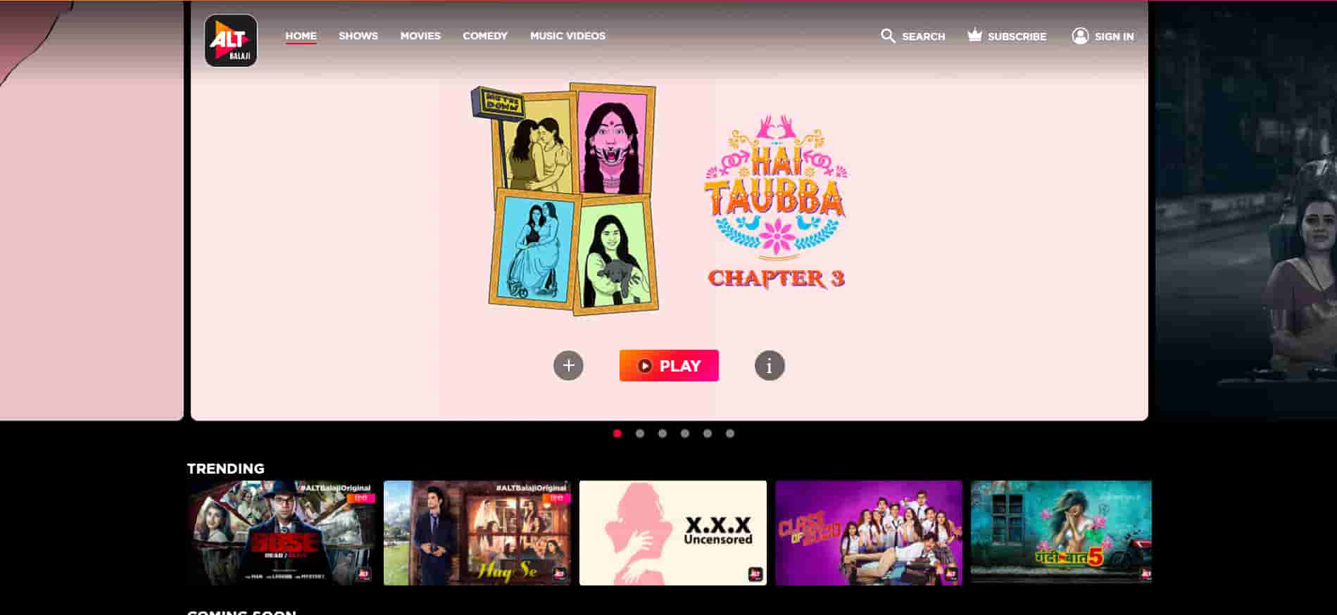 ALT Balaji Promo Codes | Coupons | Offers